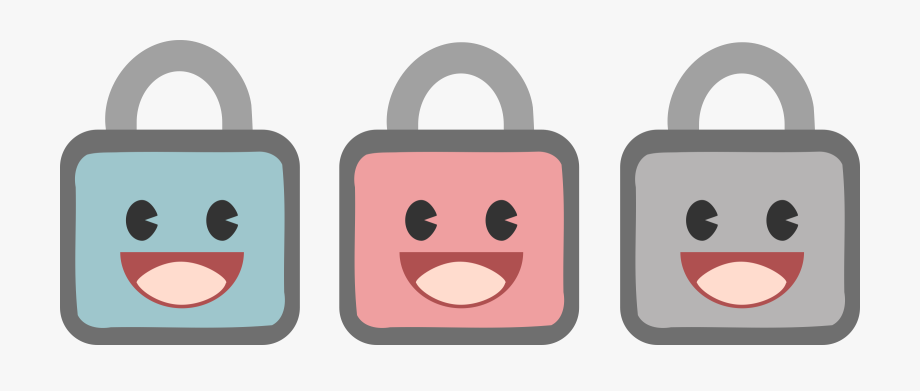 Lock clipart cute. Png free cliparts