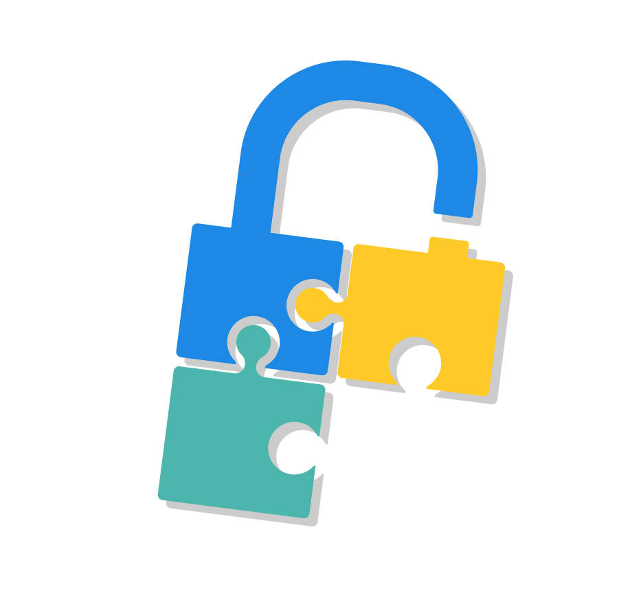 Physical what you aren. Lock clipart data security