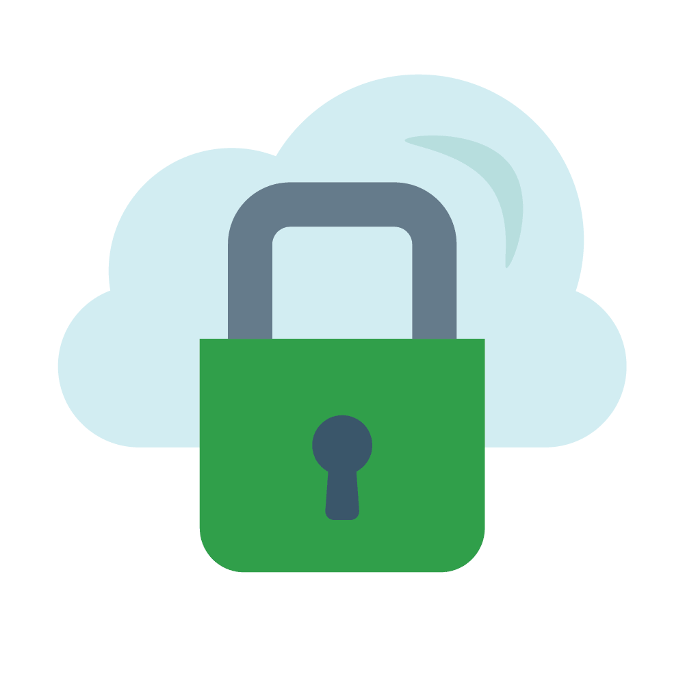 About loki private. Lock clipart data security