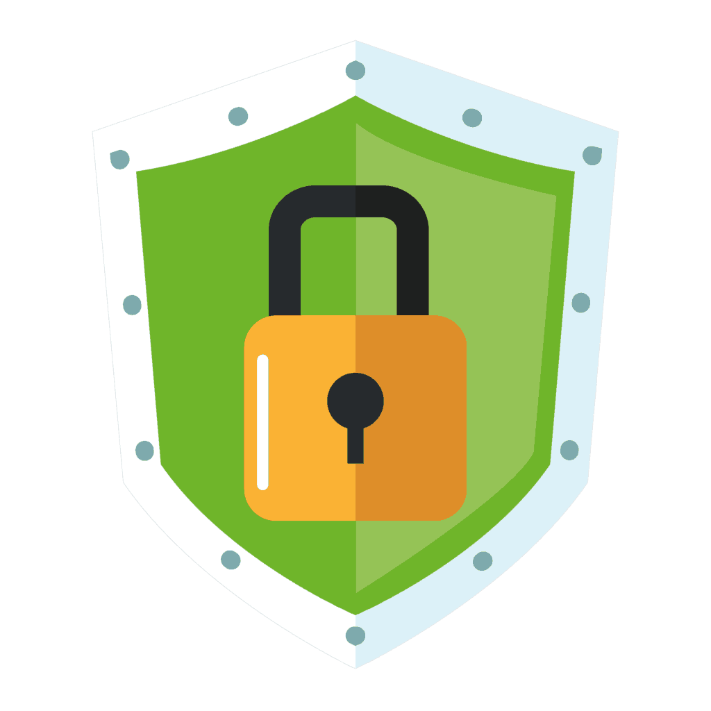 Managed it cyber company. Lock clipart data security