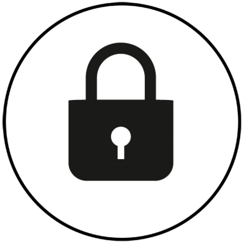 Lock clipart data security. Protect and preserve future