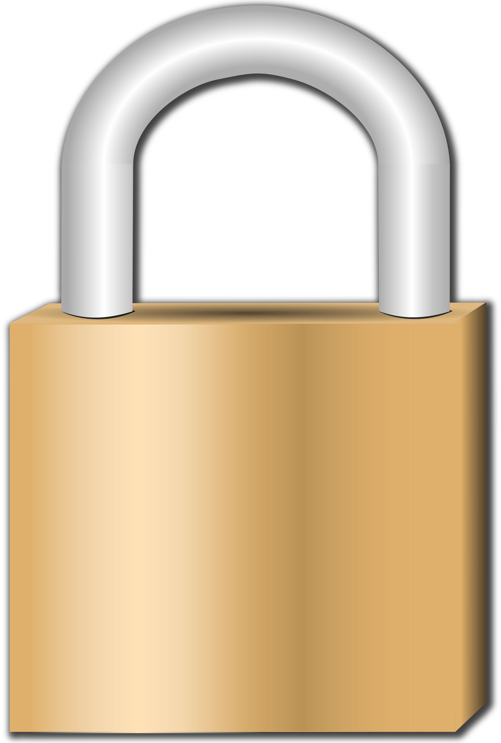 gold keyhole clipart - HD1619×2400