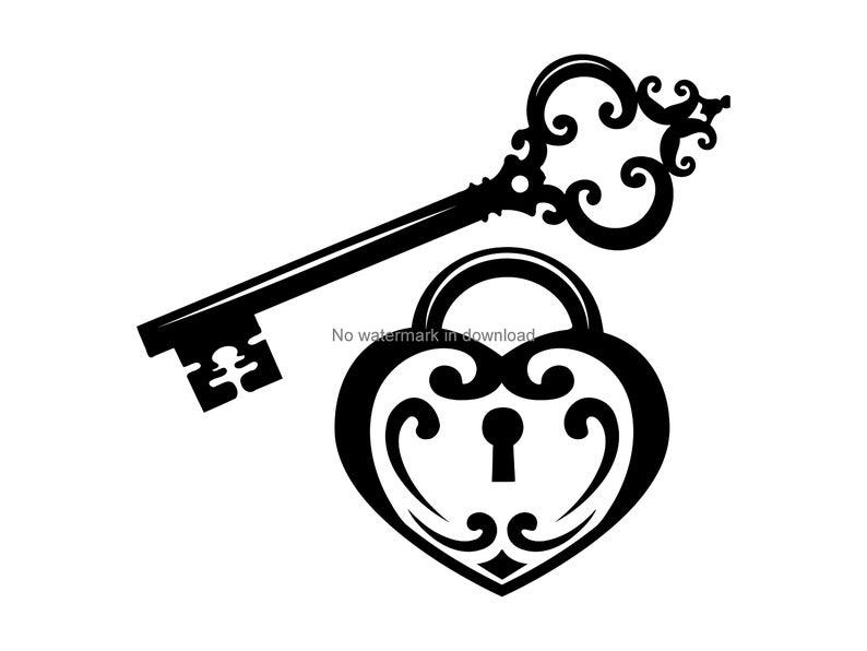lock clipart fancy