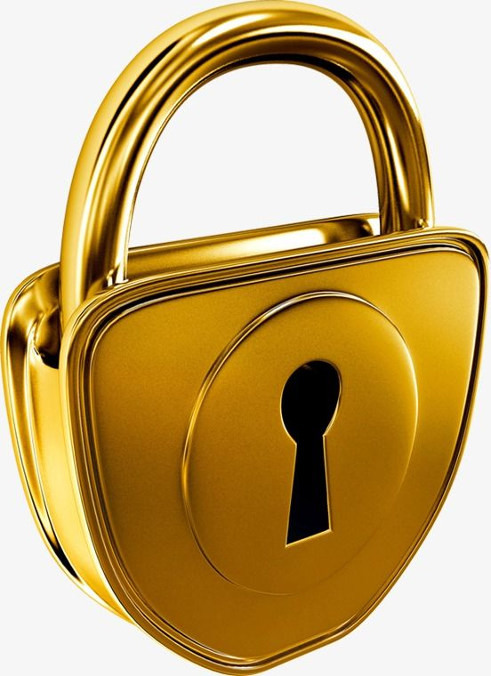 Lock clipart golden. Locks png transparent