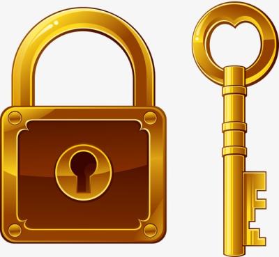 Png dlpng com . Lock clipart golden