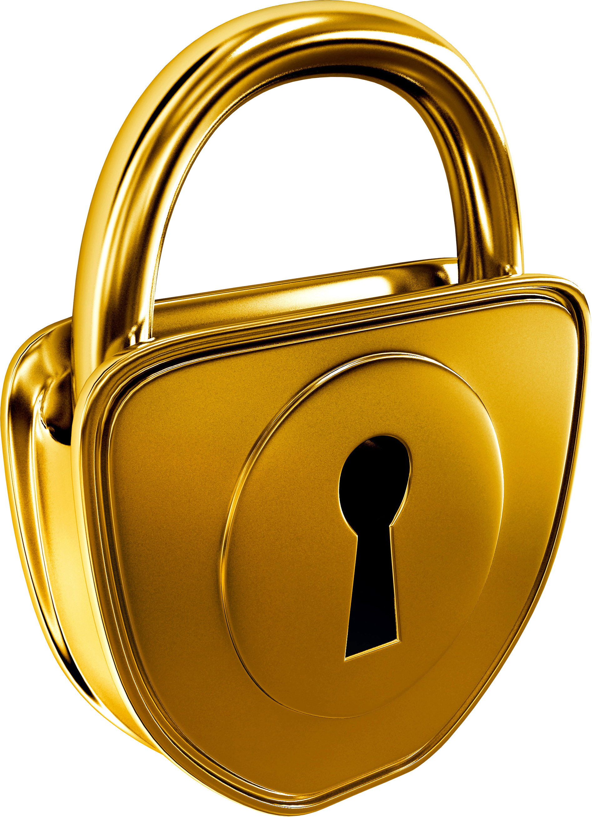 Lock clipart golden. Chair stickers png transparent