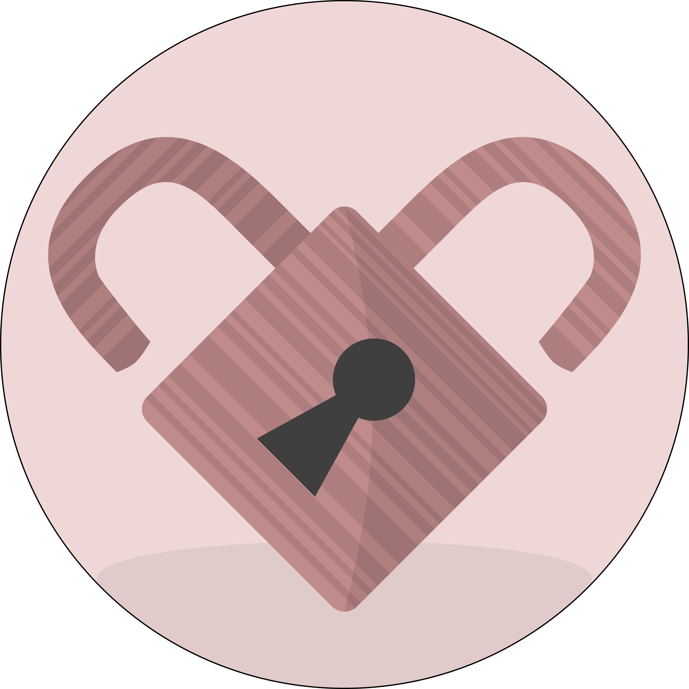 Pink big image png. Lock clipart heart
