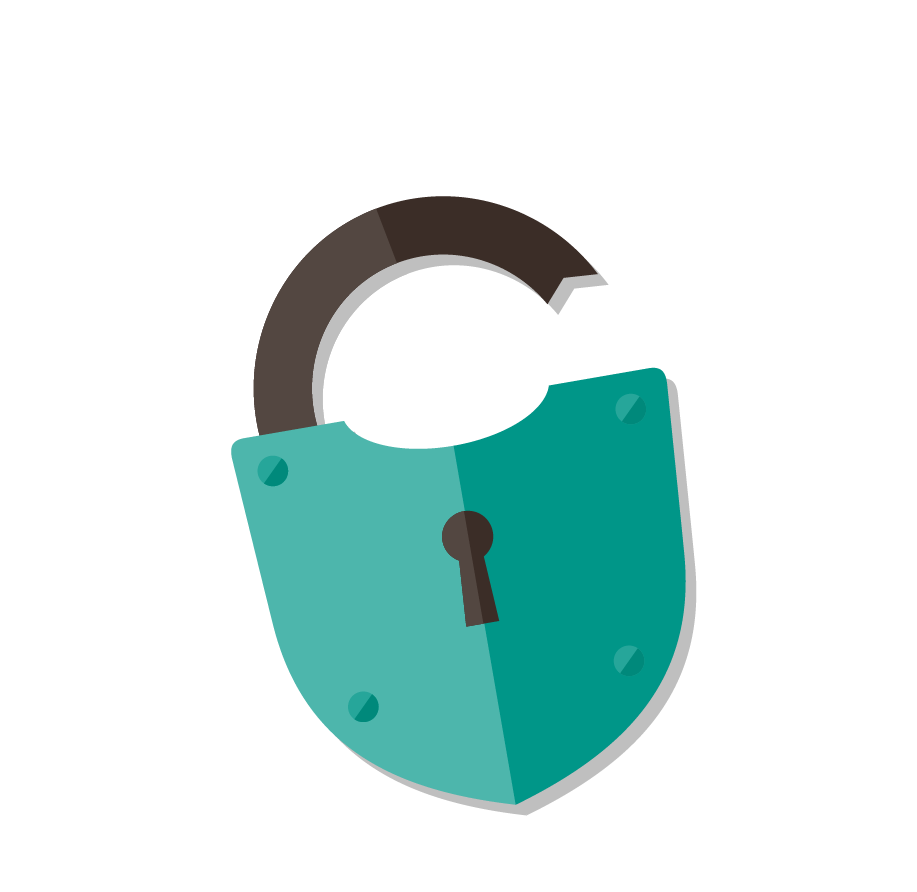lock clipart insecurity