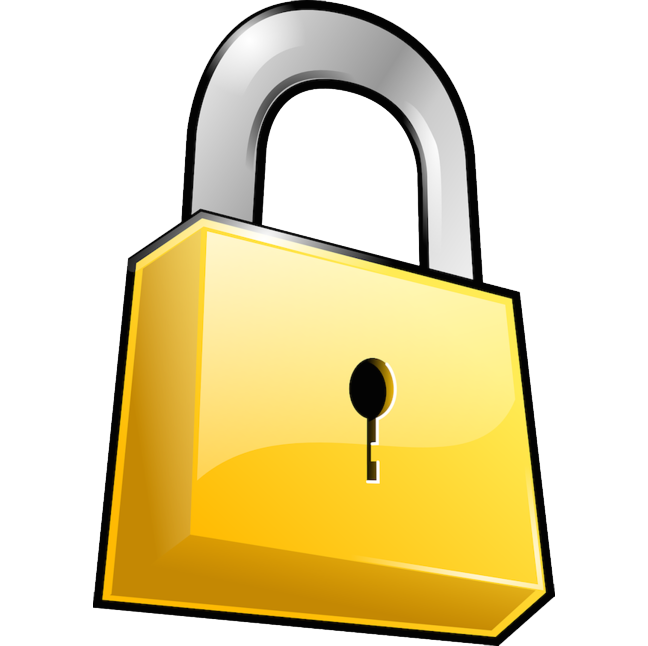 Lock clipart internet security. Secure by default why