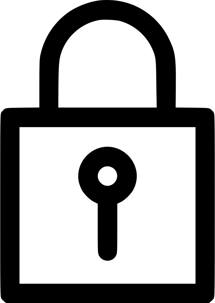 Privacy secure protected password. Lock clipart internet security