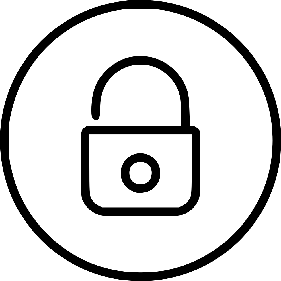 Locked safe secure safety. Lock clipart internet security