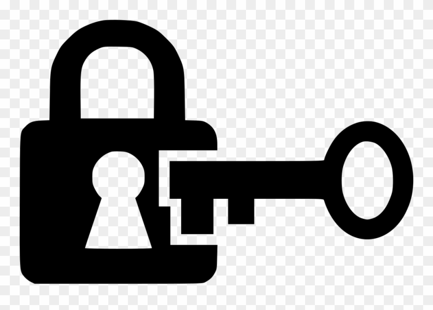 Download key and png. Lock clipart lock icon