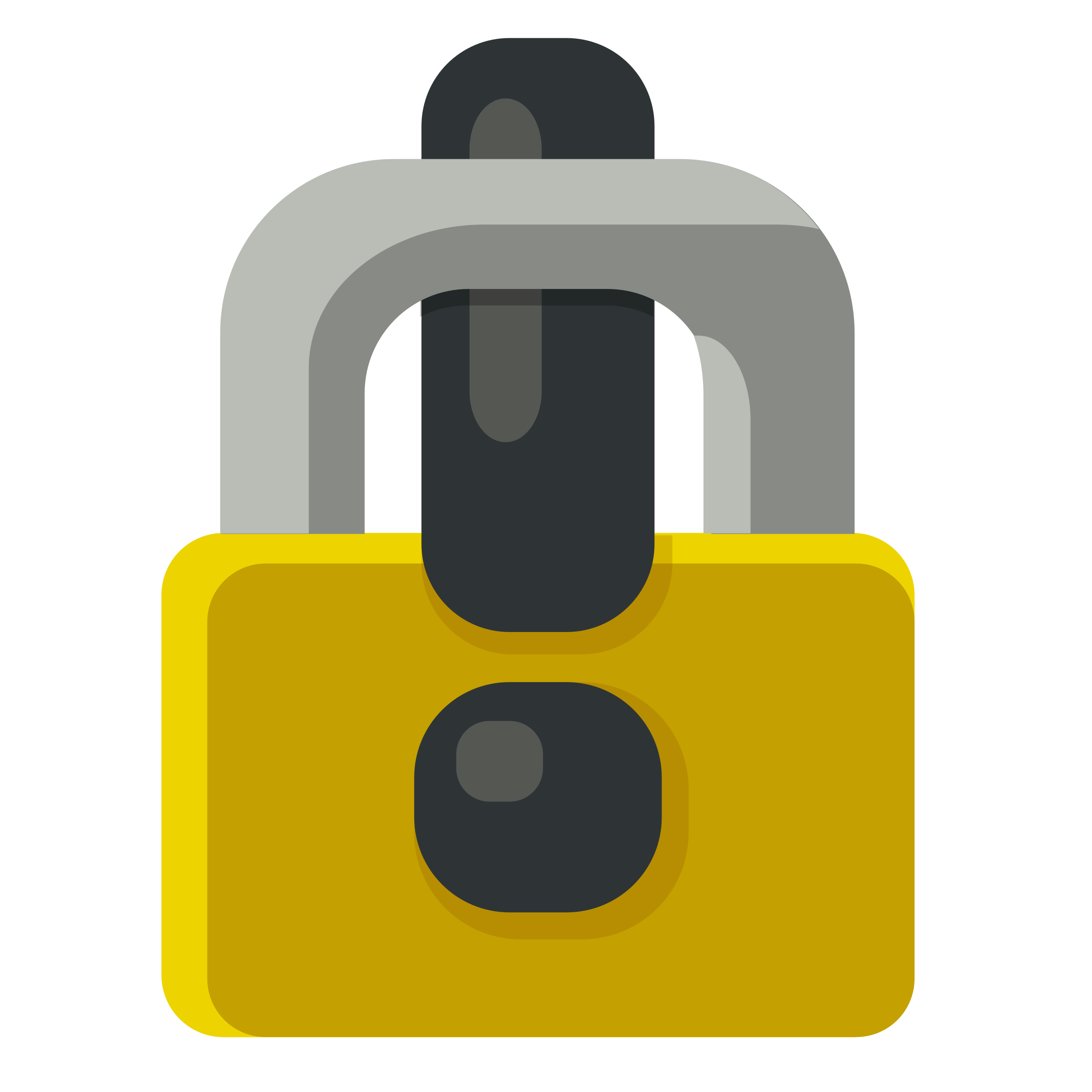 Lock clipart locked. Exclamation mark padlock icons