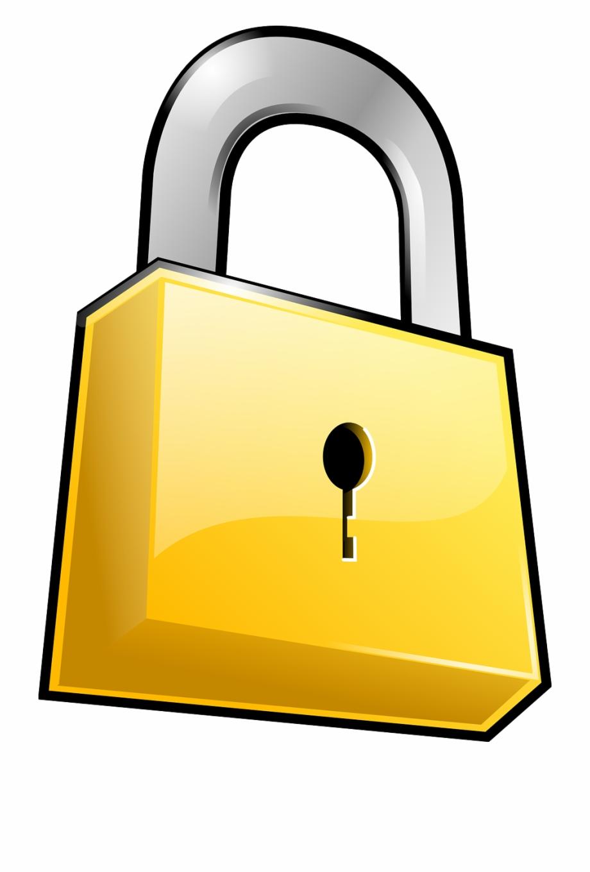 Security padlock png image. Lock clipart locked