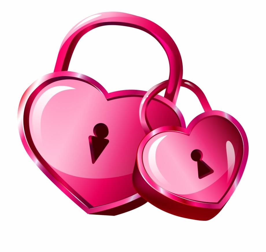 Lock clipart love lock. Heart locks transparent png