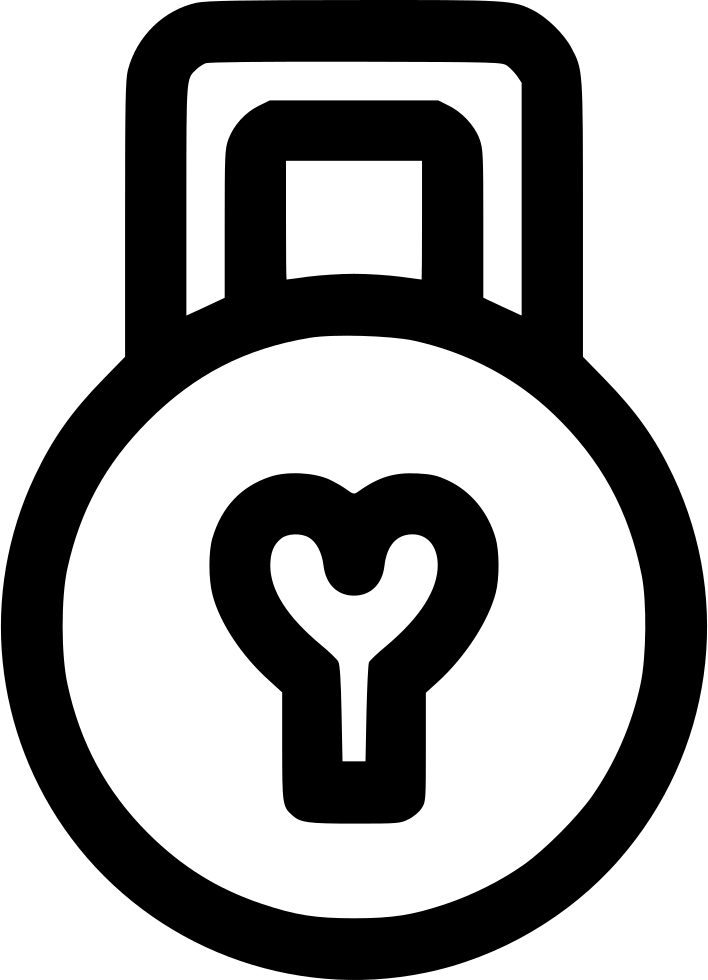 Svg png icon free. Lock clipart love lock