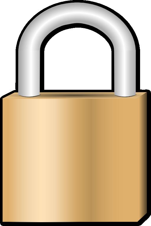 Padlock i royalty free. Lock clipart metal