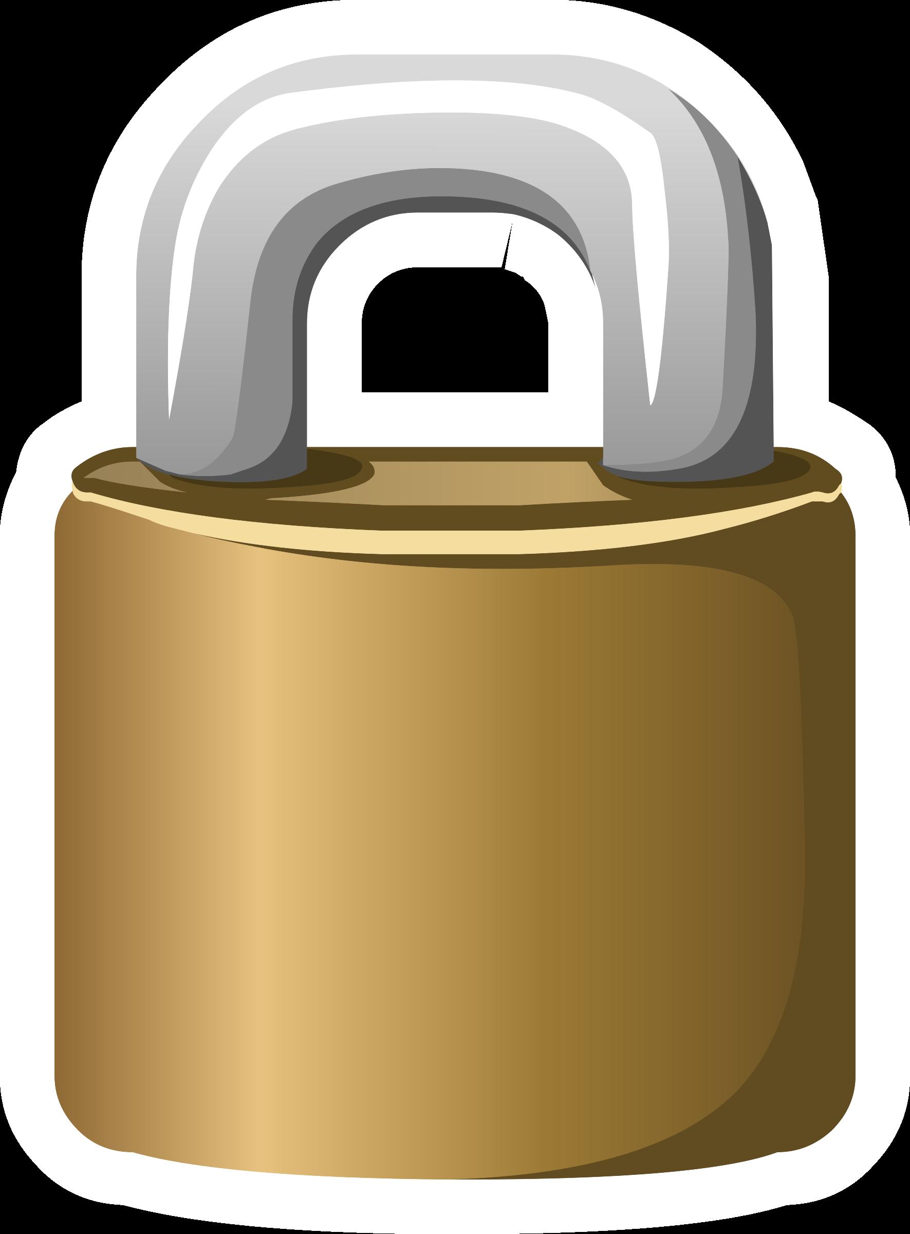 Lock clipart metal. Misc crown game big