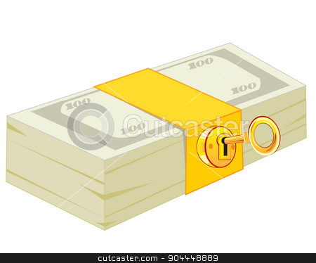 Lock clipart money. Pack of the on