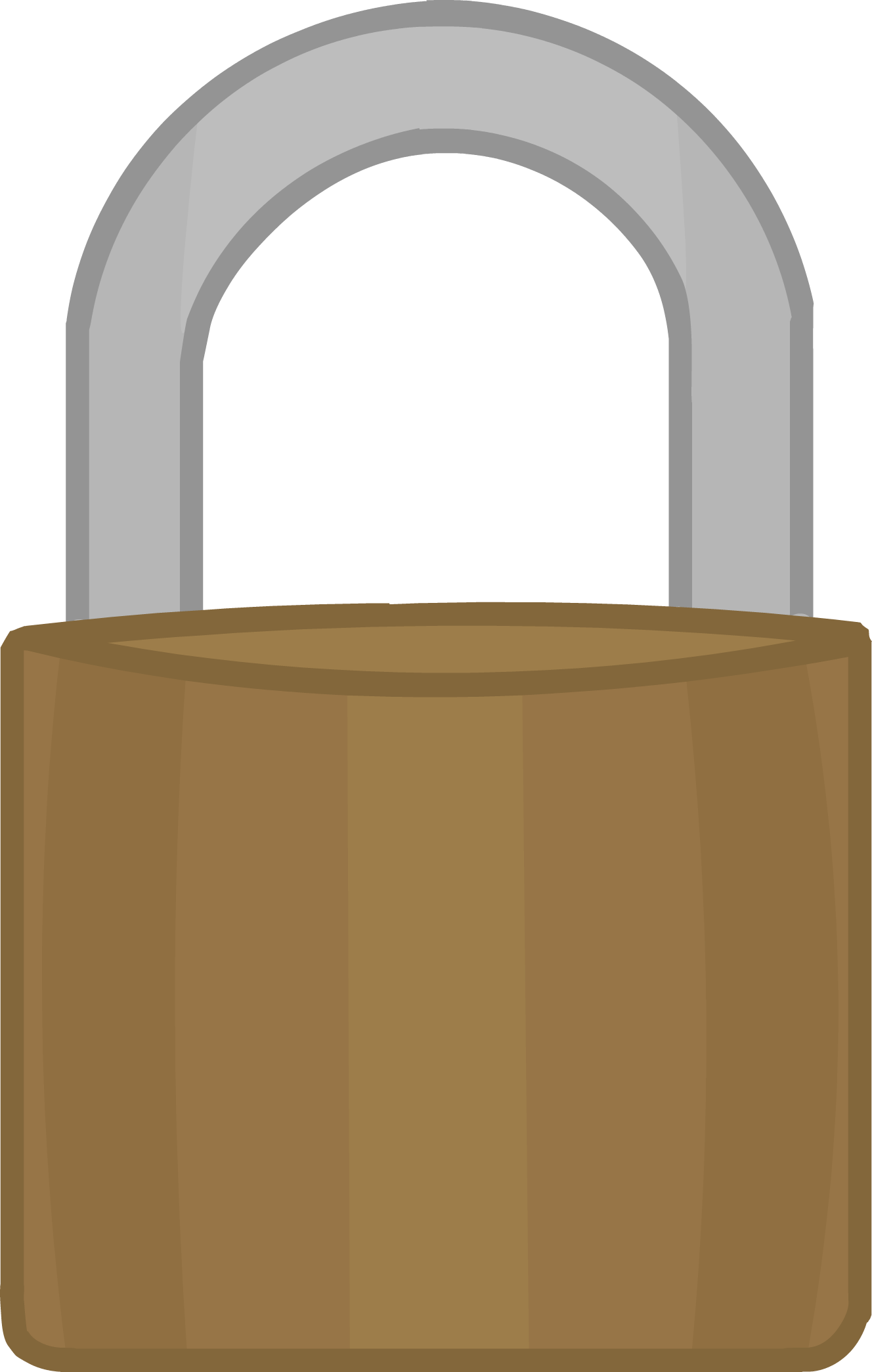 Image body png object. Lock clipart number lock