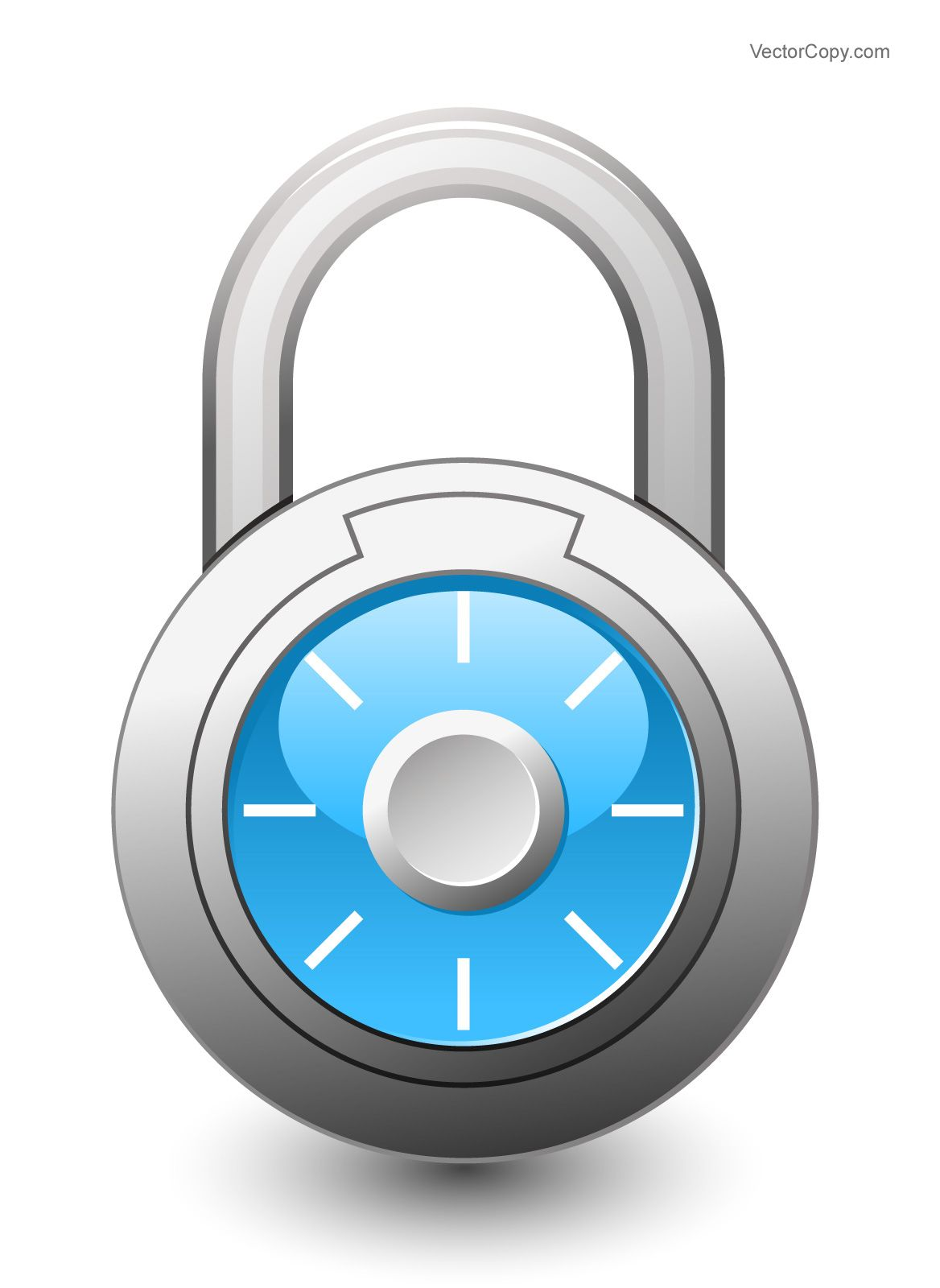 Combination icon free vector. Lock clipart number lock