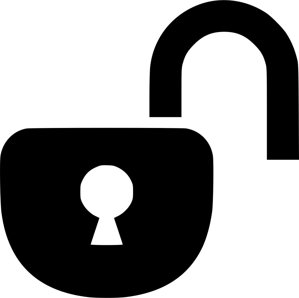 Lock clipart open. Free padlock clip art