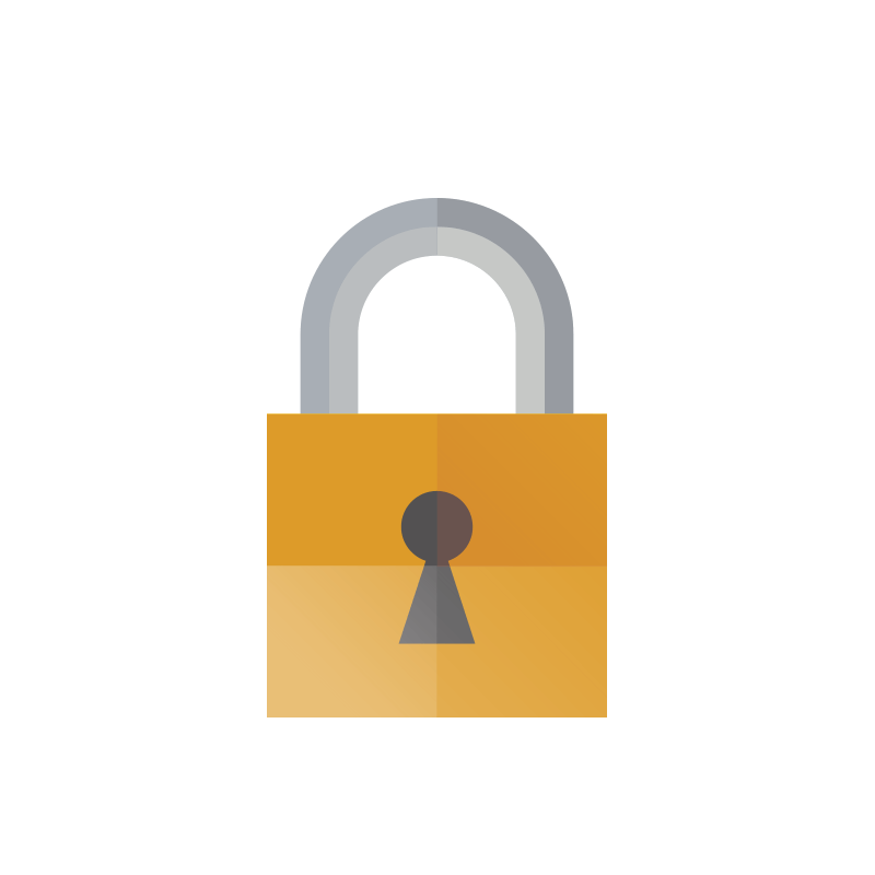 Index of assets images. Lock clipart round lock