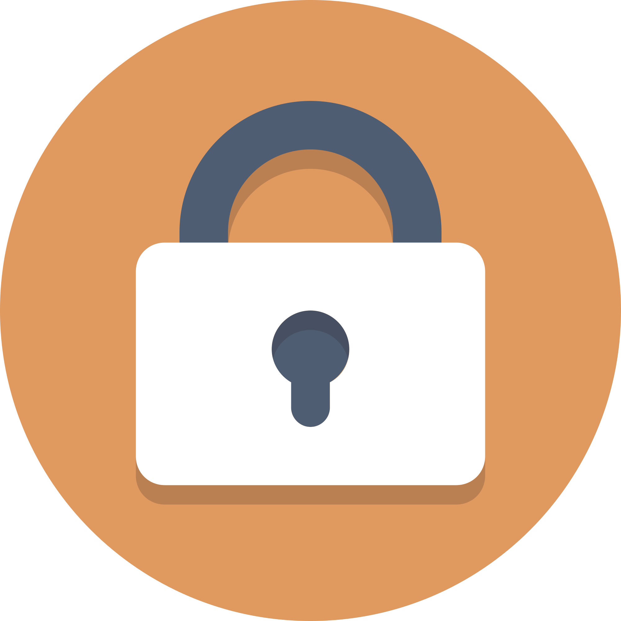Lock clipart round lock. File circle icons locked