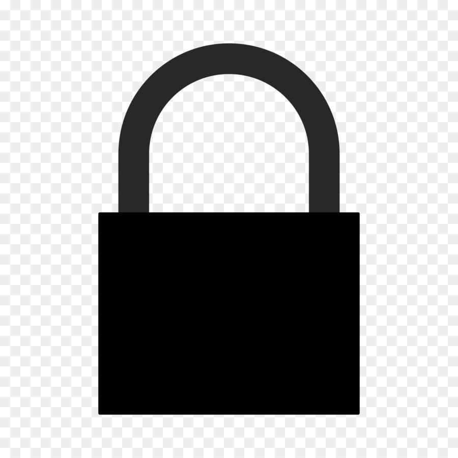 Png clip art . Lock clipart silhouette