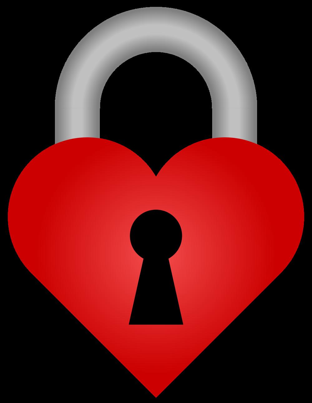 File heart padlock svg. Lock clipart simple