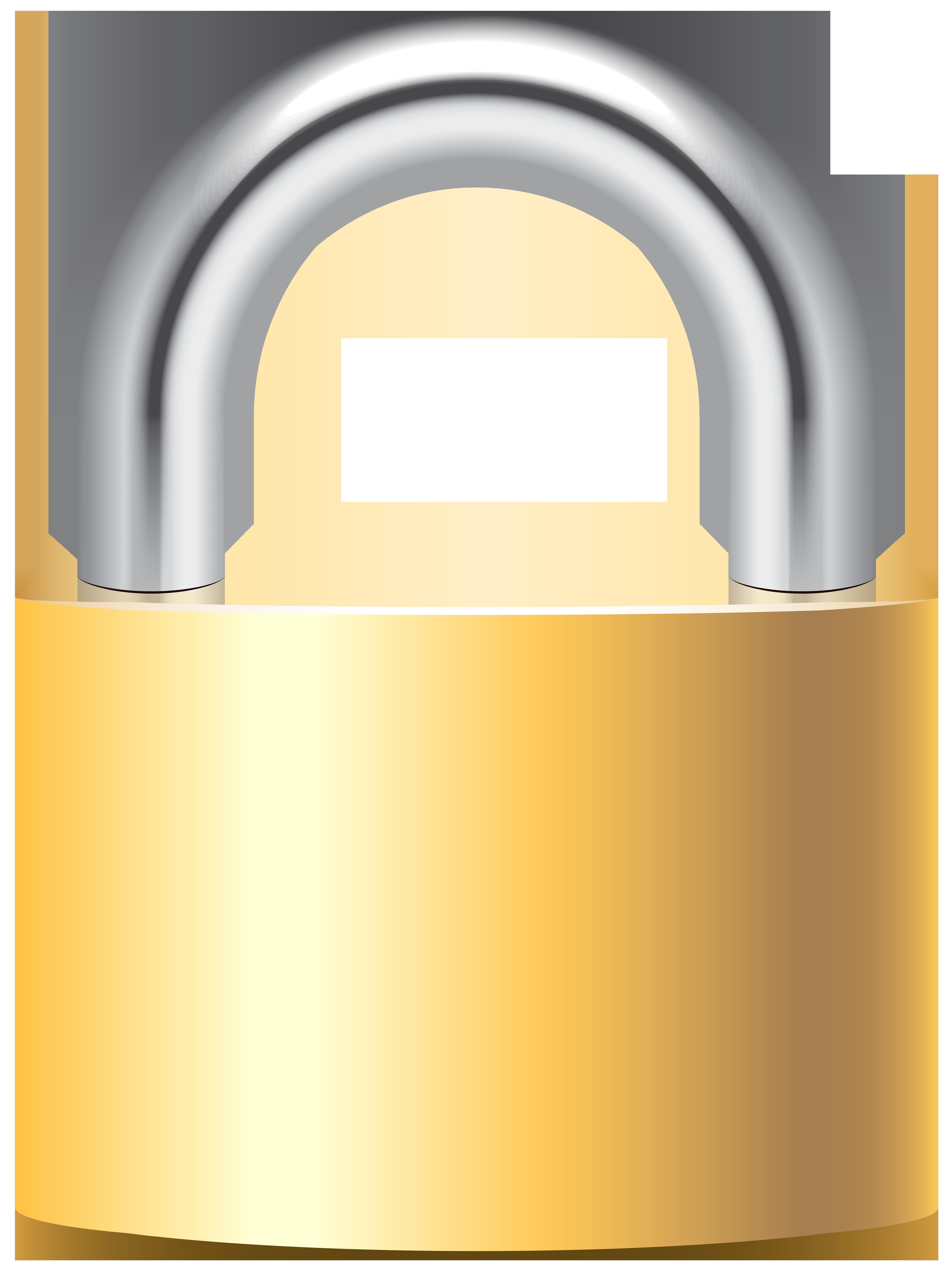 Padlock gold clip art. Money clipart lock