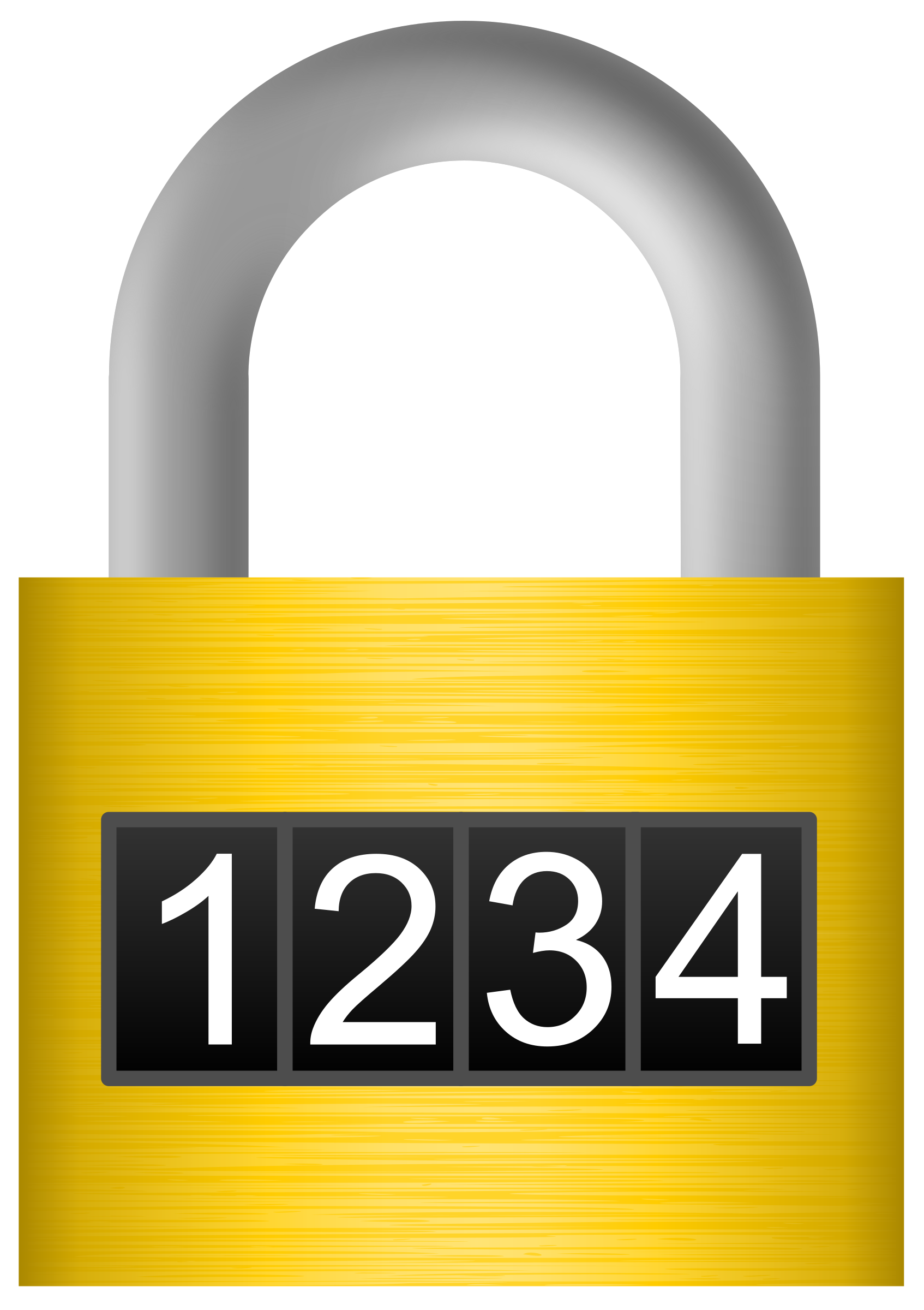 Combination big image png. Lock clipart small