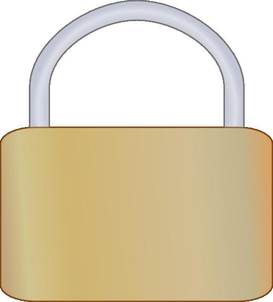 Padlock clip art at. Lock clipart svg
