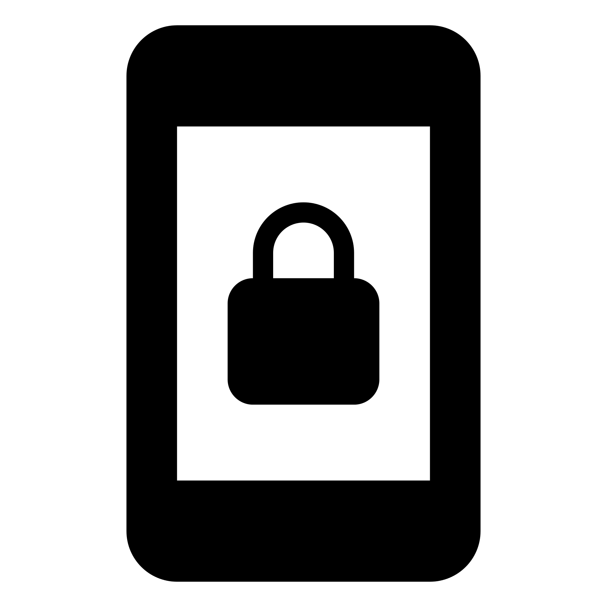 Lock clipart svg. File ic screen portrait