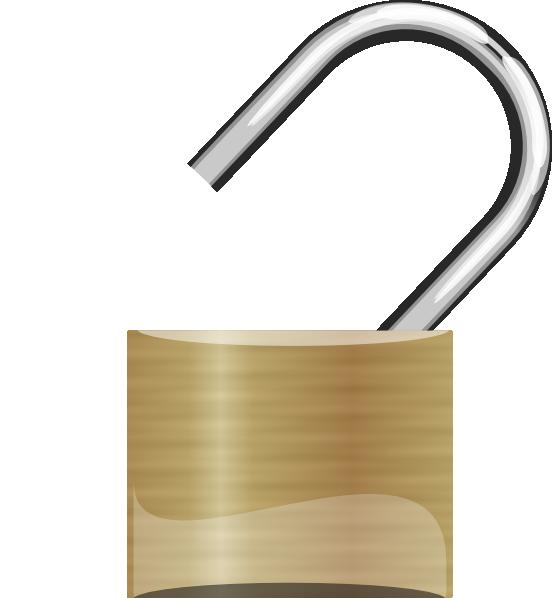 Lock clipart transparent. Unlocked padlock png images