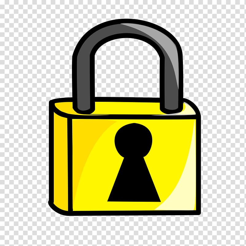 Lock clipart transparent background lock. Free content key combination