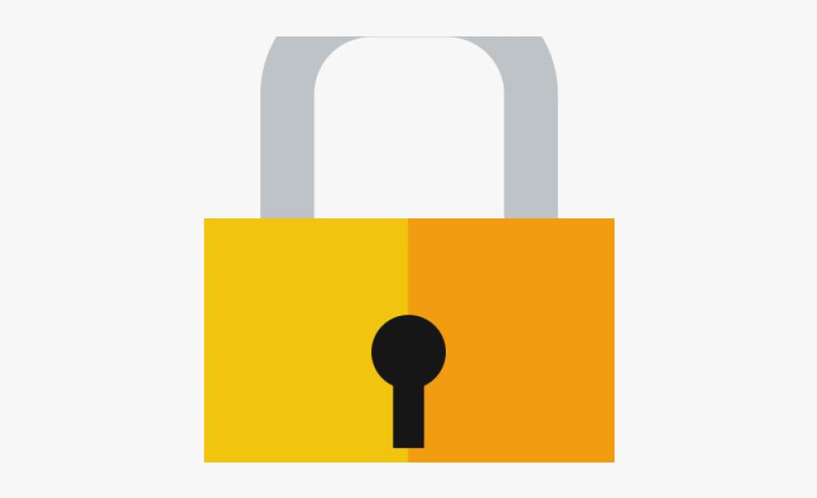 Lock clipart transparent background lock. Sign