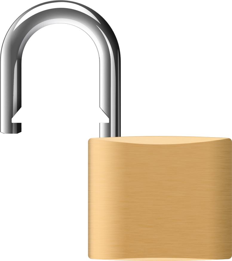 Lock clipart transparent background lock. Padlock png image purepng