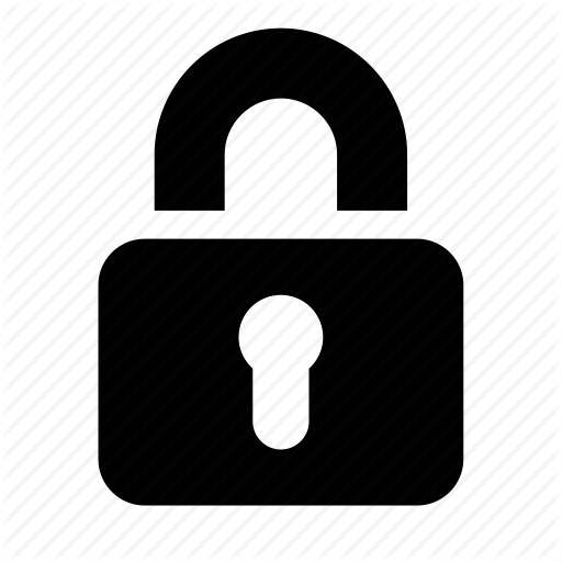 Lock icon png. Eldorado basic by icojam
