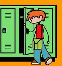 Free school lockers. Locker clipart