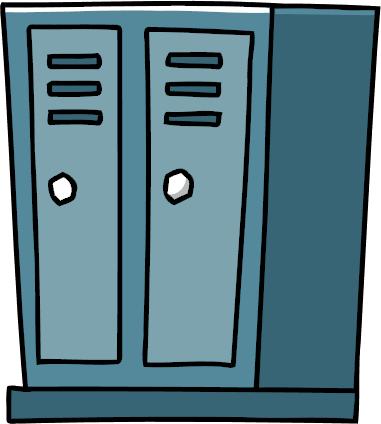 Locker clipart. Image room png scribblenauts