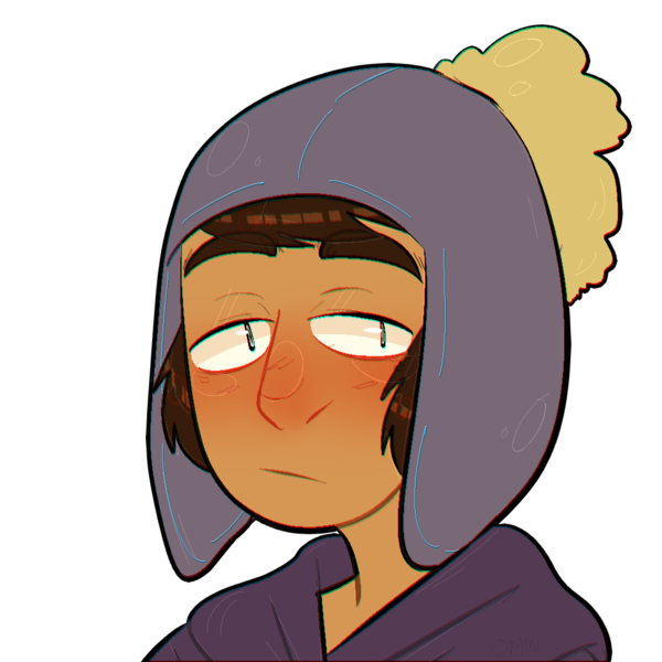 Shy clipart depressed boy. South park one shot