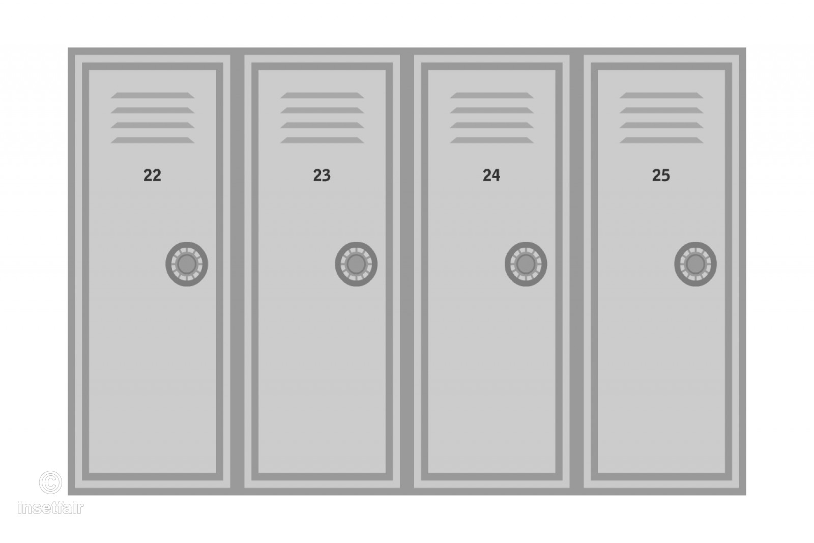 Locker clipart locker door. Bank wardrobe doors