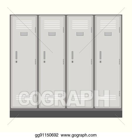 Vector school or changing. Locker clipart locker door