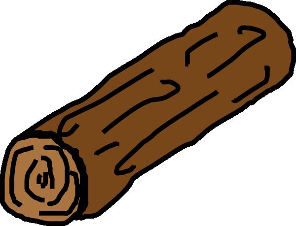 Clip art at clker. Log clipart