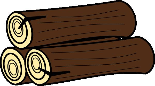 Clip art at clker. Logs clipart