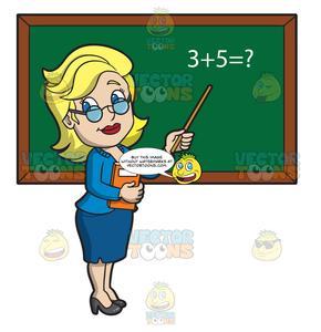log clipart math professor