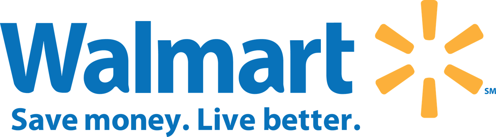 Walmart logo . Mall clipart grocery