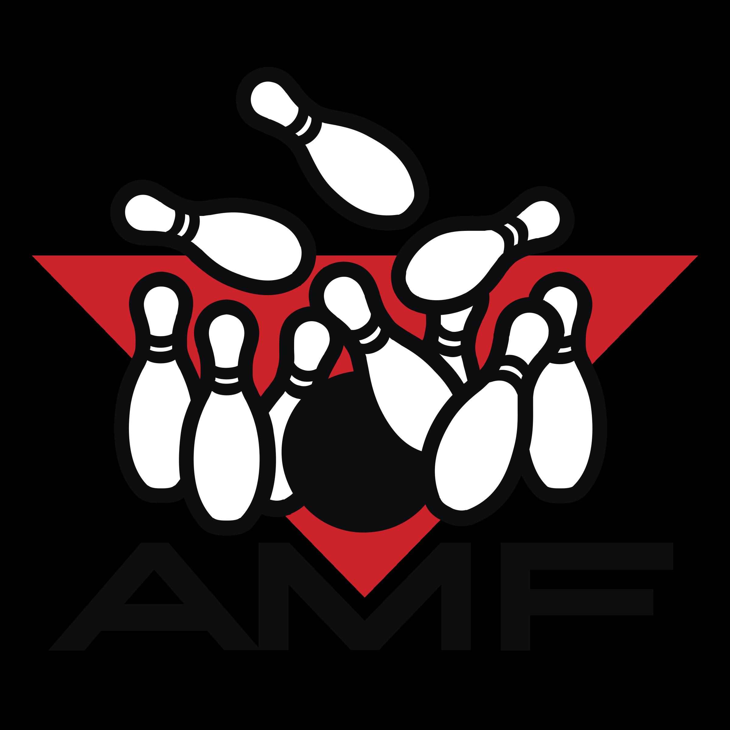 Amf png transparent svg. Logo clipart bowling