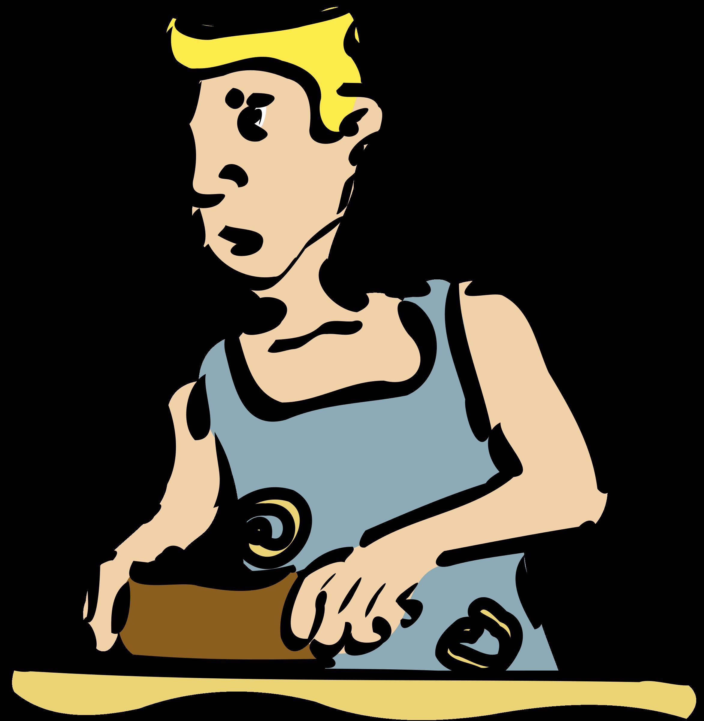 Cabinetmaker big image png. Working clipart carpenter